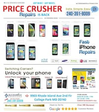 iPhone - Samsung - LG Repair & Unblocking Services College Park