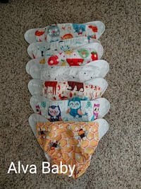 Huge lot of cloth diapers  Norfolk, 23513