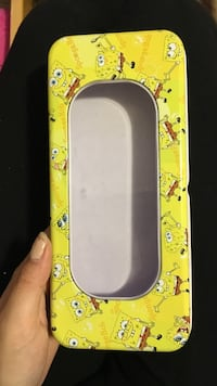 Sponge bob pencil case Maple Ridge, V4R