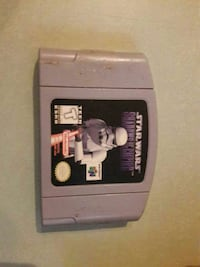 Star wars shadows of the empire N64 Video Game.  Summerville