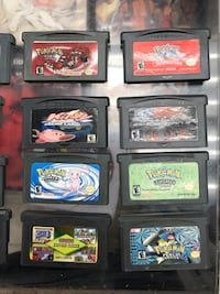 12 gameboy advance games 6 DS games Toronto, M8Z 5A3
