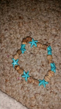 blue and brown beaded bracelet Jefferson City