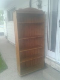 Pine bookcase. Great condition