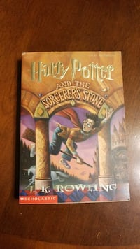 Harry Potter and the Sorcerers Stone by J.K. Rowling book