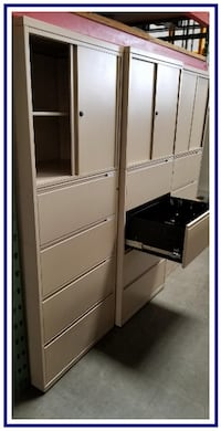 """* *  """"LIKE NEW""""  COMBO STORAGE CABINETS * * can deliver Rancho Cucamonga"""