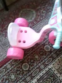 Pink girl ride use very rire