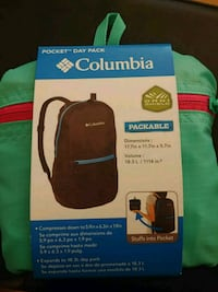 Columbia Pocket Day Pack - Omni Shield Manchester, 17345