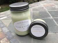 Wilderess natural soy candles gift set Chino Hills, 91709