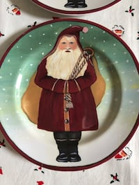 Father Christmas Dessert Plates and Mugs  Mesa, 85213