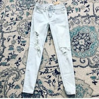 New american eagle jeans super stretch