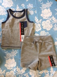 boys grey and navy set size 6-12 months Scarborough, Toronto, ON, Canada