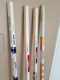 Old collection... Buster stick is signed by Gary R Vaughan, L4H 3E2