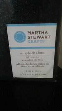 * Brand New *Martha Stewart Scrapbook 12x12