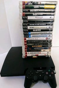 Ps3 Slim 160g/20 Games/wireless controller North Highlands, 95660