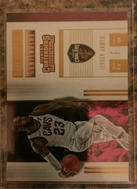 Cleveland Cavaliers LeBron James 23 trading card Lakewood, 90712