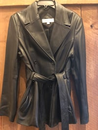 Leather Coat / Women's Medium Germantown, 20874
