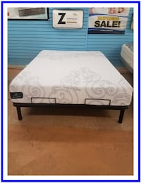 Serta GEL Foam Queen Mattress Burtonsville