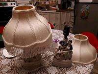 Pair of 1940,s porcelain lamps  Edmonton, T5S 2B4