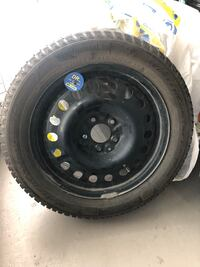 """Selling 4 like new winter Tires Continental Pro 17"""" on steel rims TPMS Mississauga, L5B 3G2"""