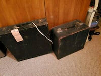 Vintage suitcases Burlington, L7M 4R2