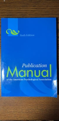 Publication manual Decatur, 30033