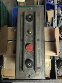 Antique Otis elevator top of car inspection stations  Toronto, M4W 1A7