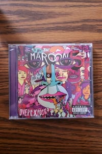 Marron 5 - Overexposed CD Brooklyn, 11219