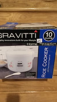 Gravitti rice cooker box