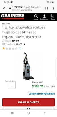 black and gray Bissell upright vacuum cleaner screenshot Maplewood, 55119