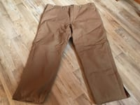 NEW Carhartt Pants Lined Insulated 44x30 NEW 598 mi