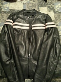Ladies Genuine Leather Motorcycle Jacket St. Catharines