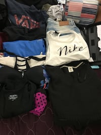 300 or more items women's clothing plus extras size large