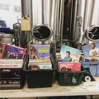 Selling Records from 12-6 pm MOnday to Friday at Decendance Brewing!