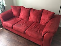 Ashly Red Couch  Colorado Springs, 80910