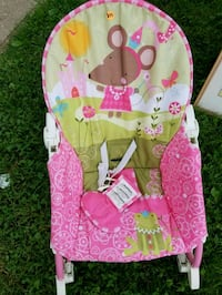 baby's pink and white bouncer Lancaster, 43130