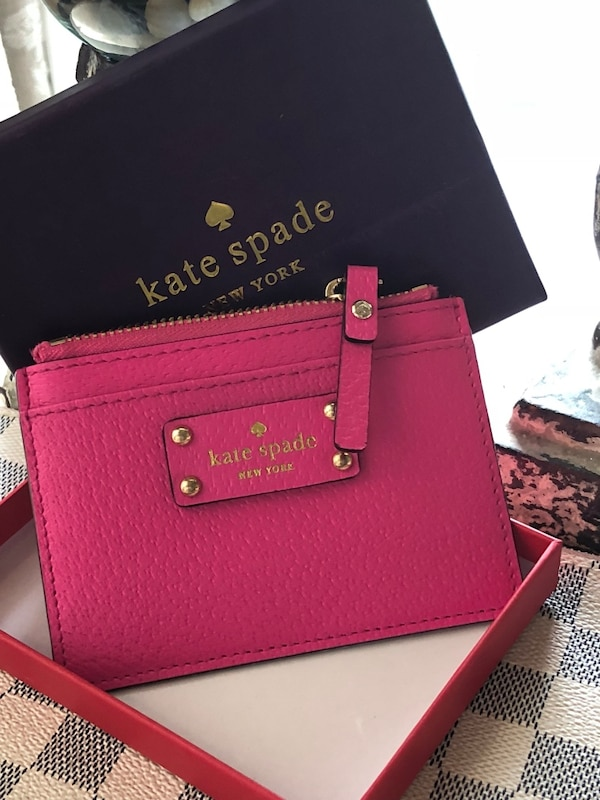 Authentic Kate Spade Card Holder NEW