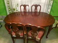 Dining table with 6 chairs Savannah