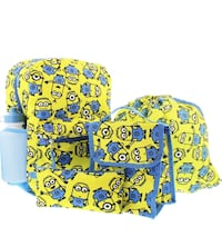 Despicable Me 5pc Backpack Set- Brand New!