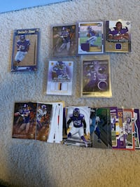 Vikings football cards Otsego, 55330