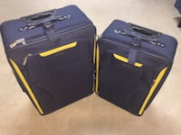 Nautica Two black and yellow luggage bags Pacific Grove, 93950