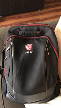 MSI gaming backpack   huge space for any laptop  Lakewood, 80215