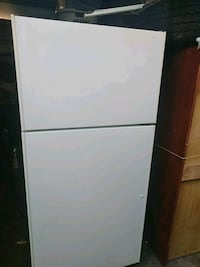 White Apartment Size Hotpoint Refrigerator  Plymouth