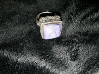 Silver ring large stone Long Beach, 90802