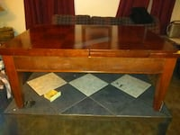 mahogany wood game table Mobile