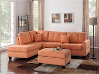 Brand new sectional sofa with ottoman  39 km