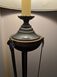 Beautifully crafted table and floor lamp set TORONTO