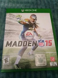 Madden NFL 15 Xbox One game case Las Vegas, 89107