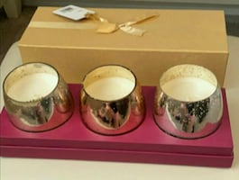 NEW Holiday Candle 3-pc Set in Gift Box - $15 - PARMA PICKUP