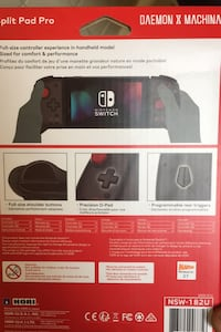 Portable game console switch controllers new