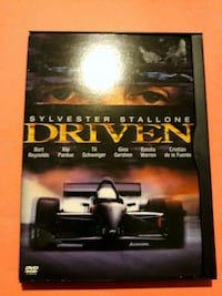 """DVD Movie, """" Driven """" with Sylvester Stallone! Chicago"""